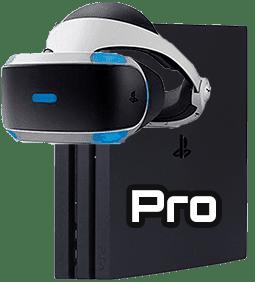 Con la PS4 Pro y las PSVR se saca el mayor partido