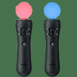 Unos mandos Move para PS4