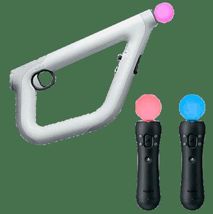 Aim Controller o Mando Move para la PS4