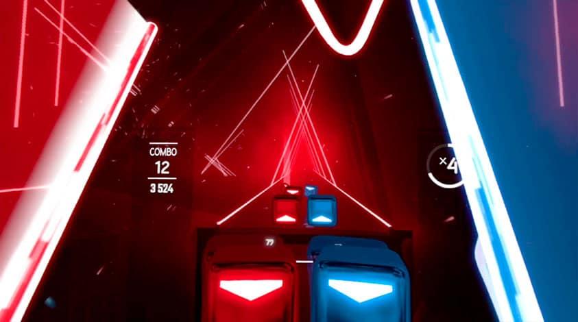 Beat Saber VR Un juego en realidad virtual para bailar y hacer ejercicio