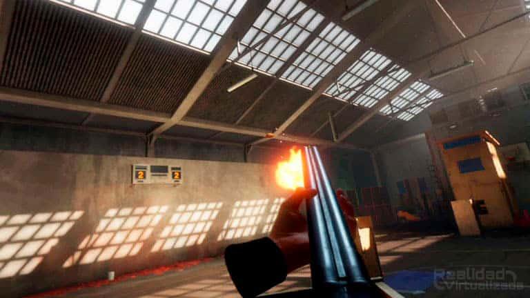 Blood and Truth un juego compatible con el Aim Controller aunque solamente se puede utilizar en las galerías de tiro