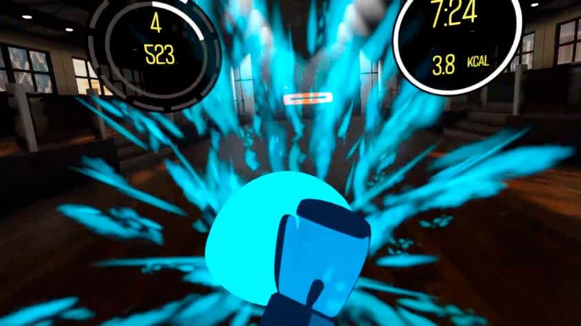 BoxVR Juego Fitness en realidad virtual para hacer ejercicio