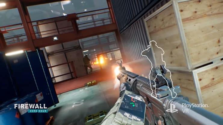 Firewall Zero Hour es un juego VR diseñado para ser jugado con aim controller