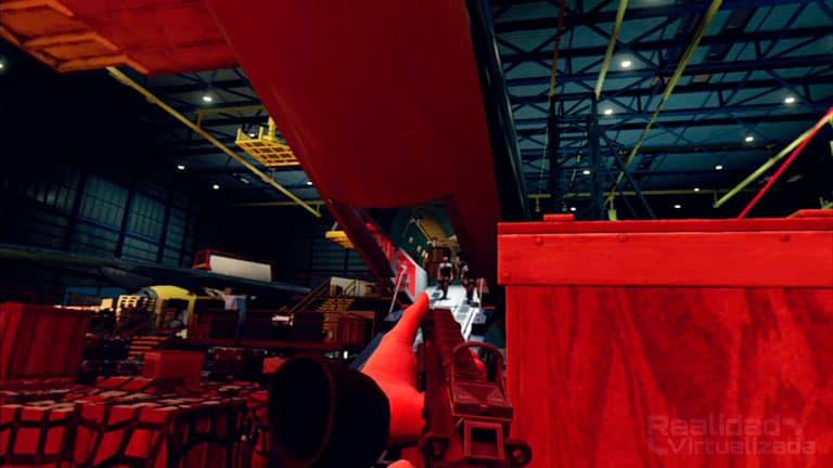 El Hangar en Blood and Truth es uno de los niveles más divertidos