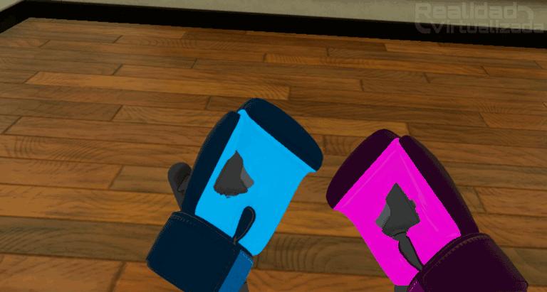 Ajustar guantes boxvr