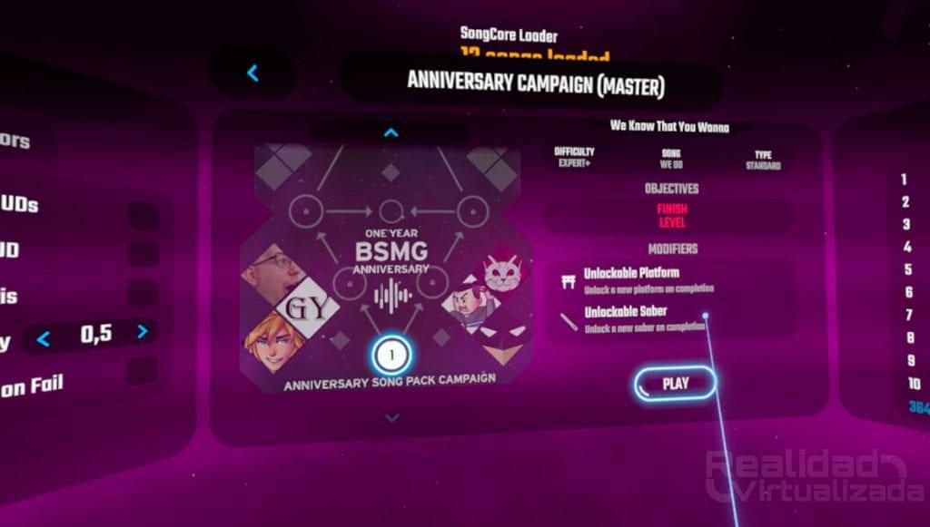 beat saber custom campaign