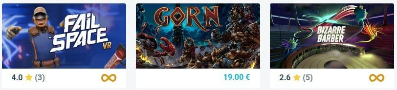 comprar gorn vr