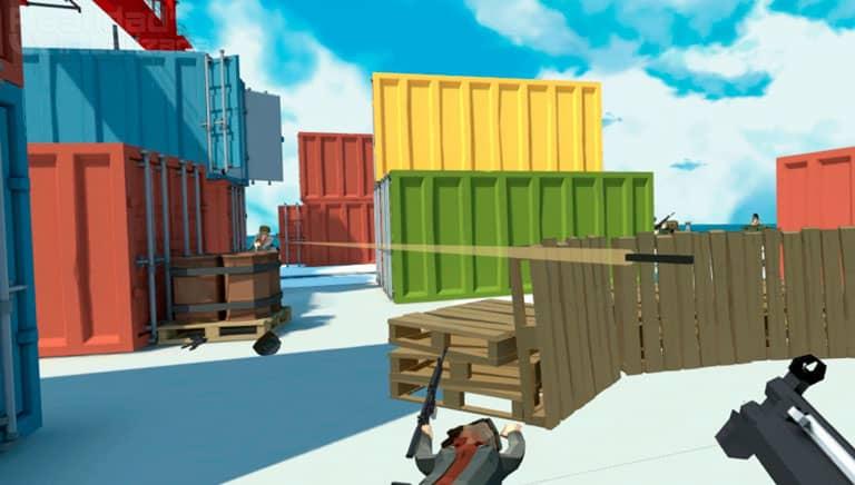 imagen de crisis vrigade un juego parecido a time crisis en realidad virtual