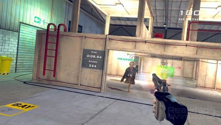pistola de gun club vr