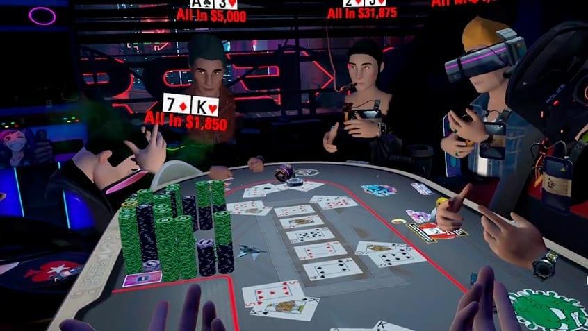 pokerstarts vr juego de poker gratis en realidad virtual