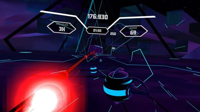imagenes synth riders vr analisis