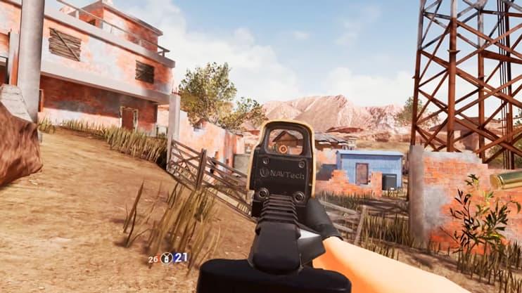 imagen del gameplay de contractors vr