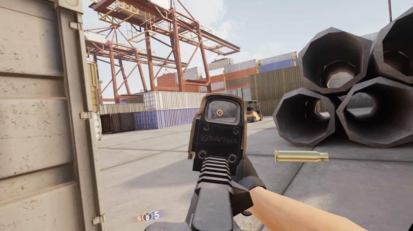 contractors vr imagen de gameplay