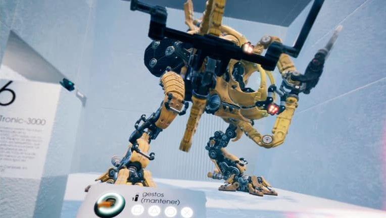 dreams vr robot