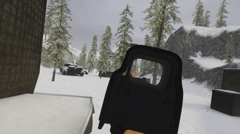 onward vr gameplay imagen shooter