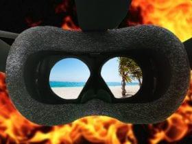 jugar a la realidad virtual en verano