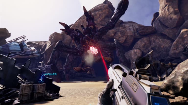 farpoint vr gameplay