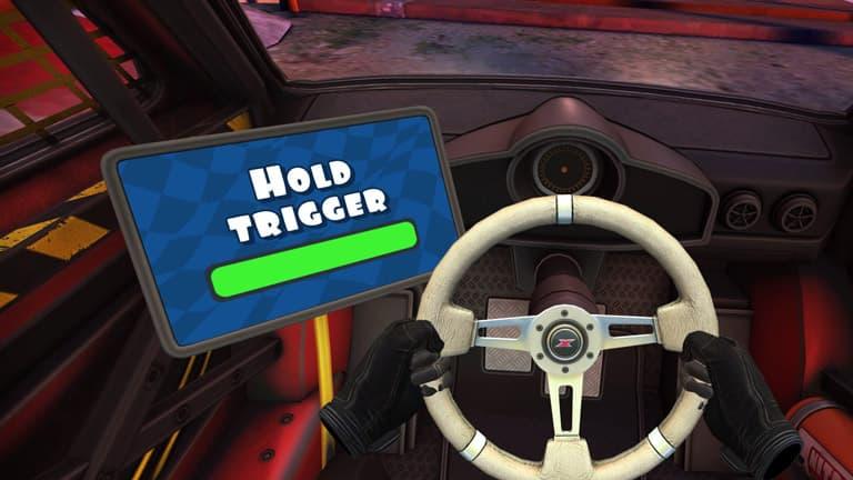 volante mini motor racing x