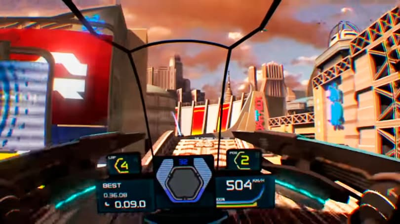 wipeoutu omega collection vr