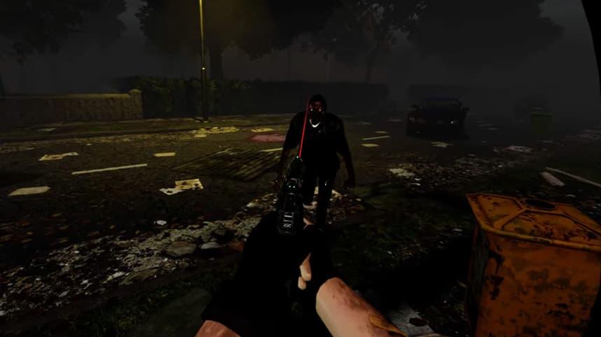 surv1v3 vr gameplay