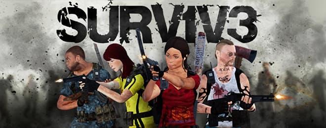 surv1v3 vr zombis