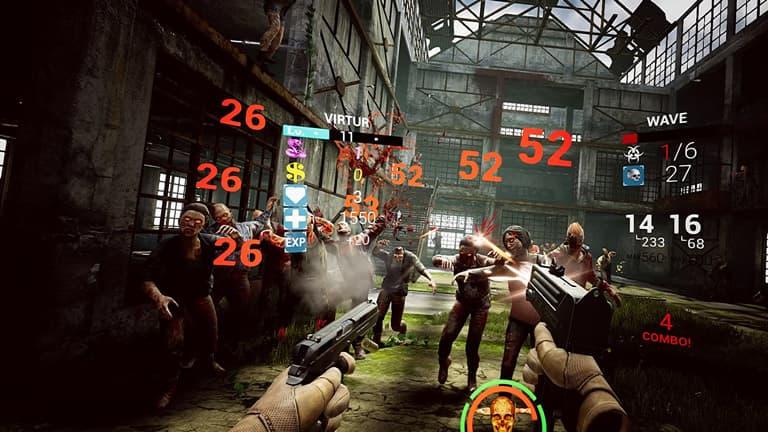 zomday vr gameplay de juego de zombies en realidad virtual