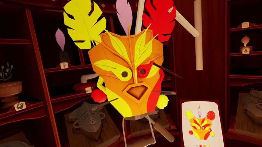 maskmaker gameplay vr