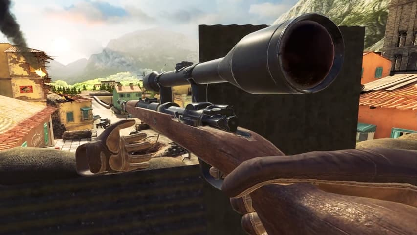 sniper elite vr trailer