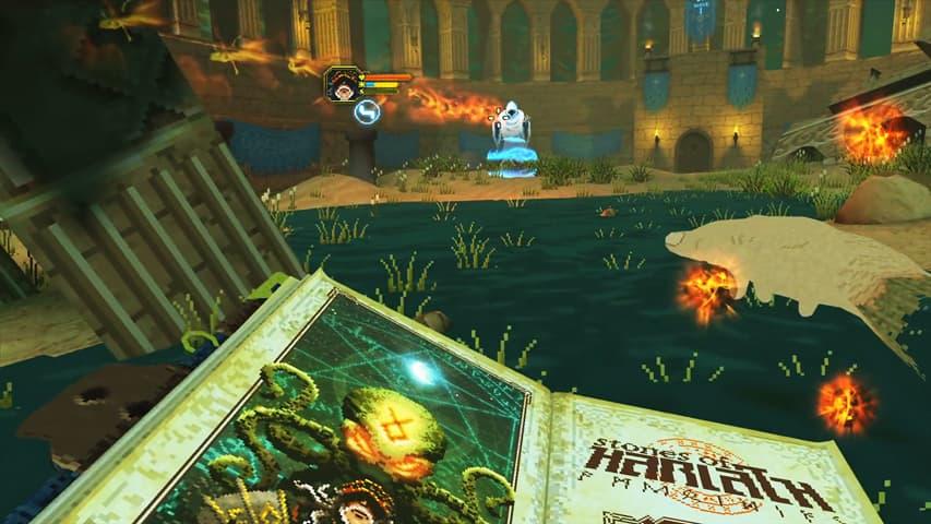 stones of harlath vr gameplay